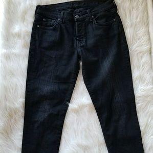 {7 for all mankind}Josefina Skinny Boyfriend Jeans